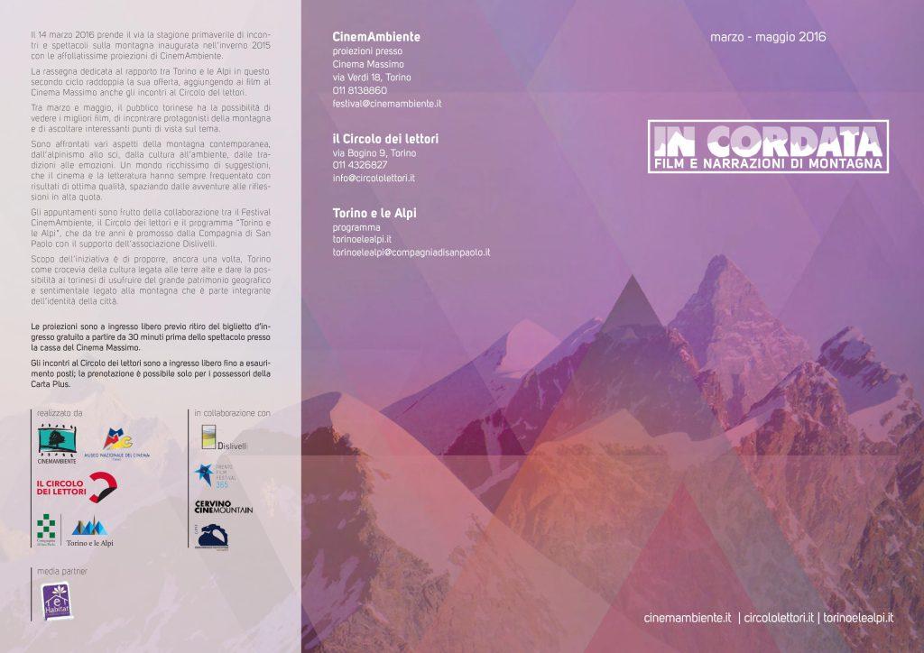 In Cordata film e narrazioni di montagna