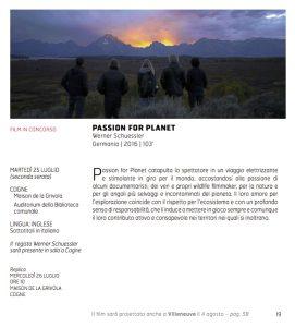 Passion for planet - Werner Schuessler - Germania | 2016 | 103'