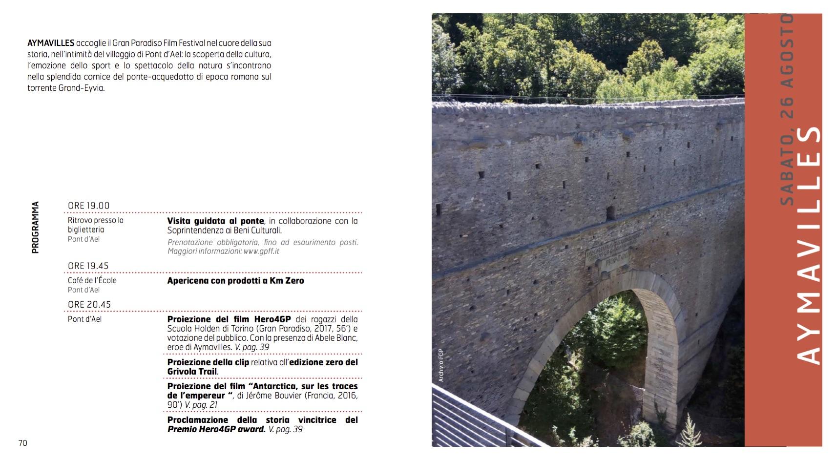 Programma Aymavilles GPFF edizione 20