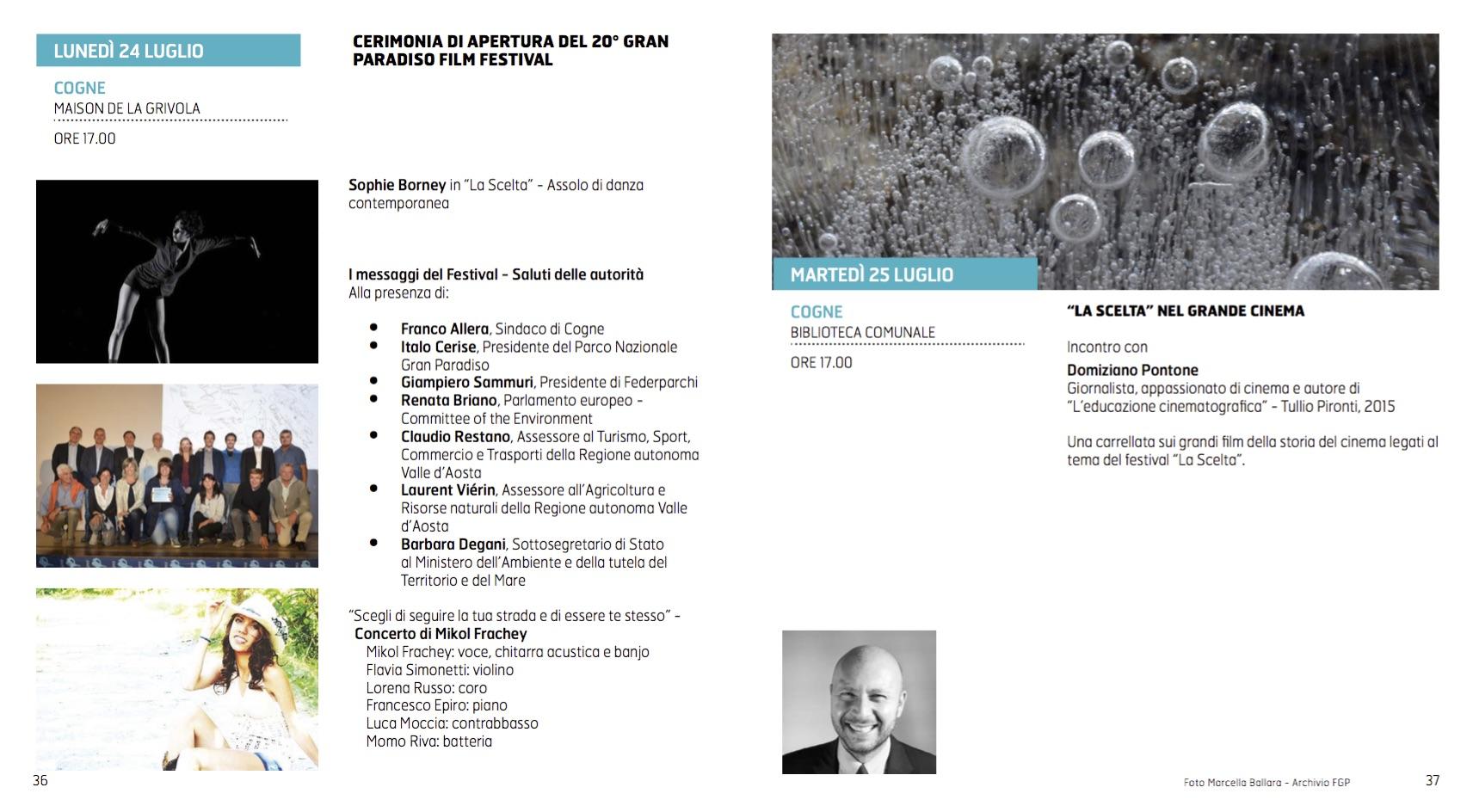Programma Cogne 24 e 25-7 GPFF edizione 20