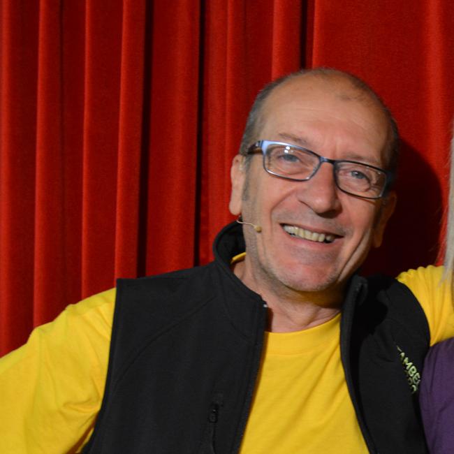 Dario Vergassola GPFF - Attore, conduttore televisivo e radiofonico, scrittore