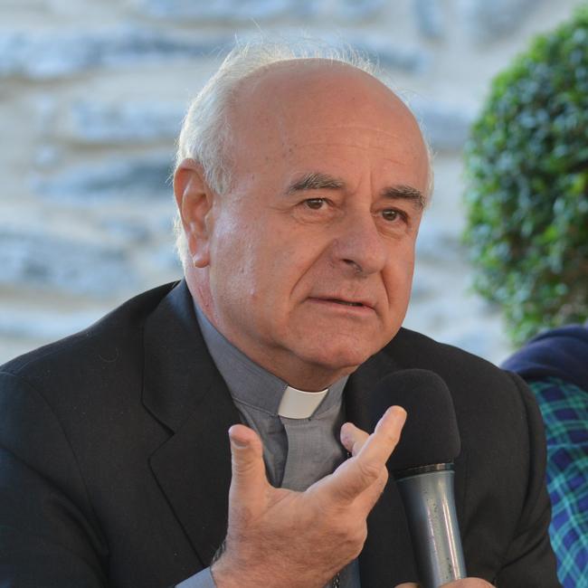 Vincenzo Paglia GPFF - Arcivescovo, consigliere spirituale della Comunità di Sant'Egidio e Presidente della Federazione Biblica cattolica internazionale