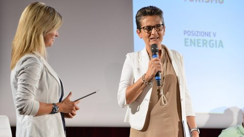 GPFF2018 cerimonia apertura position paper Luisa Vuillermoz, Morelli Patrizia Grivola Cogne