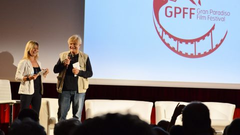 GPFF2018 cerimonia apertura Luisa Vuillermoz Gabriele Caccialanza Grivola Cogne