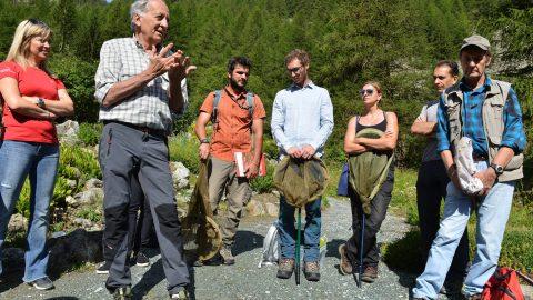 GPFF2018 Bioblitz Ente Parco Mingozzi Bonelli Zaccagno Manino Allegro Cristiano Marangoni Giardino botanico alpino paradisia