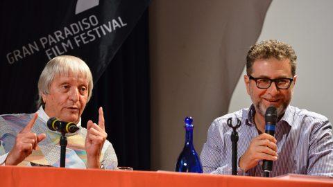 GPFF2018 Flavio Caroli Fabio Fazio l'arte italiana in quindici weekend e mezzo de rerum natura Cogne