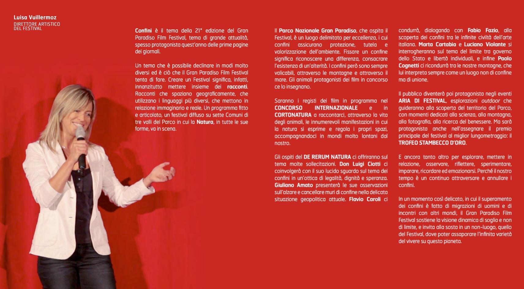 GPFF edizione 21 - presentazione direttore artistico