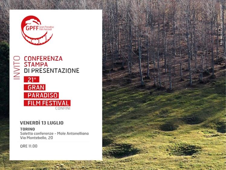 Invito Conferenza stampa Aosta GPFF edizione 21