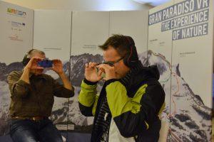 Gran Paradiso in realtà virtuale