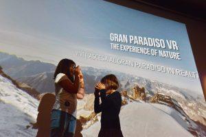 Lancio VR realtà virtuale Gran Paradiso Film Festival d'Inverno